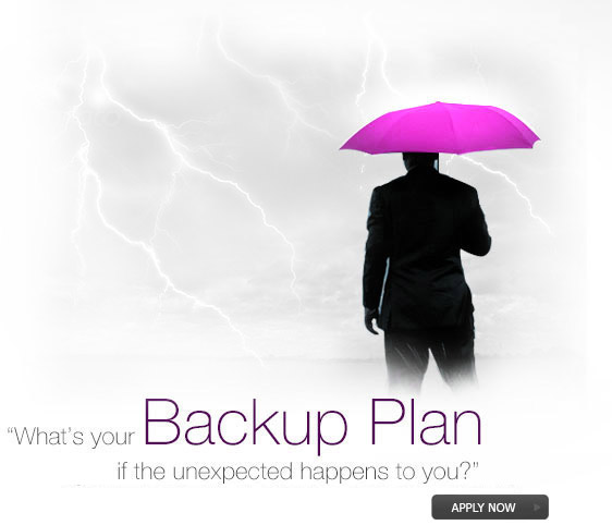 What's your Backup Plan, if the unexpected happens to you? Get Paymentcare cover and relax